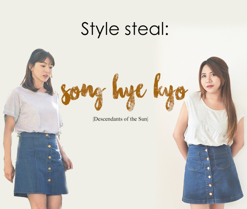 Style Steal Song Hye Kyo Dots The Jill Of All Trades